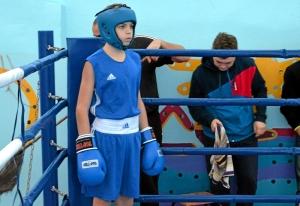 1 (45) Финал. Иван Балашов за несколько секунд до начала боя