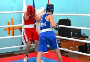 1 (51) Финал. Момент боя с участием Алексея Шелякина (в синей форме)