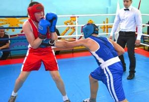 1 (61) Финал. Момент боя с участием Рубика Шахбазяна (в синей форме)