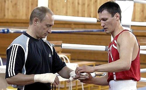 Путин и Саитов (сайт)