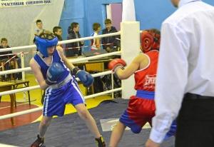 17 Финал. Момент боя Вячеслава Горбунова (в синей форме)