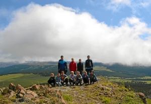 30 На вершине горы Тияхта