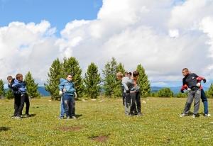 34 Тренировка на горе Тияхта