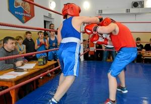(6) На ринге Андрей Файзулин (слева)