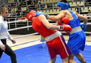 (14) Финал. В ринге Магомед Пугоев (в синей форме)