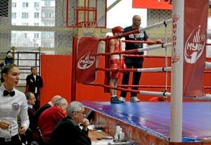 2 (2) Четвертьфинал. На ринге Андрей Дёмшин