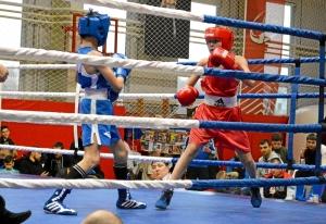3 Полуфинал. На ринге Андрей Дёмшин (в красной форме) (3)
