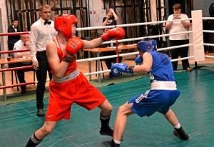 (5) 2-ой день. На ринге Иван Коломин (в синей форме)