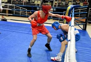 (6) Полуфинал. В ринге Владислав Тимиров (в красной форме)