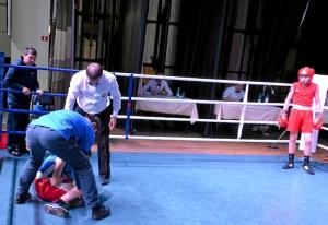 (14) Четвертьфинал. Нокаут. В углу ринга Данил Жуланов