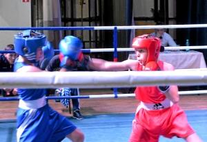 (16) Полуфинал. На ринге Андрей Демшин (в красной форме)