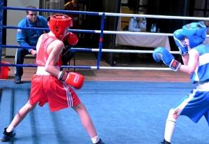 (9) Четвертьфинал. На ринге Андрей Демшин (в красной форме)