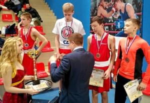 5 Награждение призеров в весовой категории до 54 килограмм