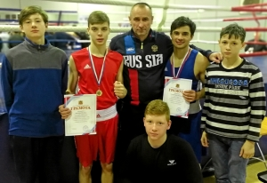 (9) Киселевская команда после соревнований