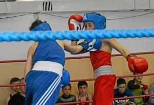 (19) Финал. Момент боя Александра Совы (в синей форме)