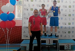 3 Победители соревнований Андрей Демшин и Александр Шульц