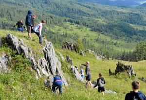 6 Прогулка в горы. Охота на бурундука (1)