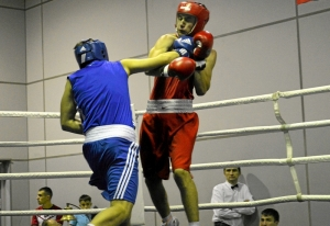(24) Финал. Момент боя Иван Коломина (в синей форме)