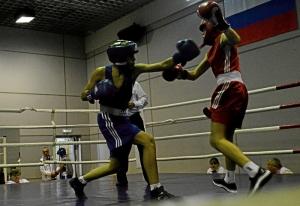 (7) Полуфинал. Момент боя Андрея Демшина (в синей форме)