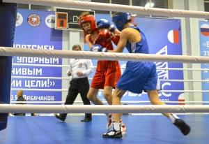 (13) Четвертьфинал. На ринге Даниил Радченко (в синей форме)