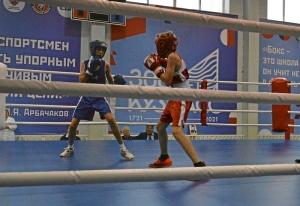 (18) Полуфинал. На ринге Александр Сова (в синей форме)