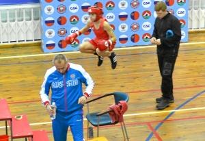 (2) Андрей Демшин открывает соревнования для нашей команды