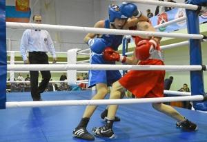 (21) Полуфинал. На ринге Андрей Дёмшин (в синей форме)