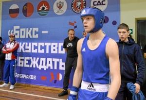 (22) Полуфинал. Вячеслав Горбунов перед выходом на ринг