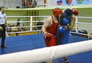 (36) Полуфинал. На ринге Александр Шульц (в красной форме)