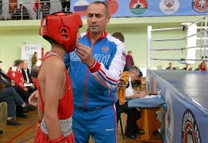 (40) Финал. Александр Сова перед выходом на ринг