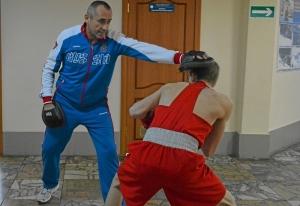 (43) Финал. Вячеслав Горбунов перед выходом на ринг