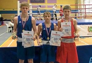 Победители соревнований. Слева направо Вячеслав Горбунов, Андрей Дёмшин, Алексей Чужегов