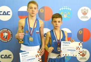 3. Егор Пономарев - победитель первенства Кузбасса и финалист Матвей Мулявин