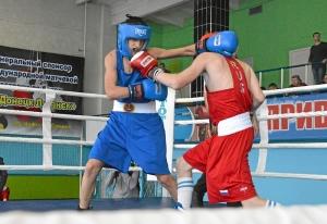 (14) На ринге Егор Пономарев (в красной форме)