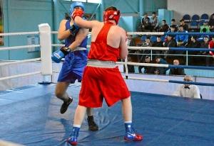 28 На ринге Александр Шульц (в красной форме)