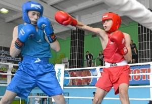 (8) На ринге Андрей Дёмшин (в красной форме)