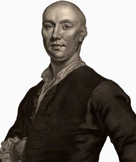 NPG D828; John ('Jack') Broughton by John Faber Jr, after  John Ellys