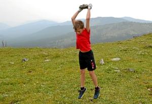 (13) Гора Тияхта. Бросаем камни