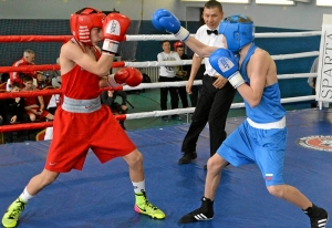 1 (13) Финал. Егор Пономарев (в синей форме)