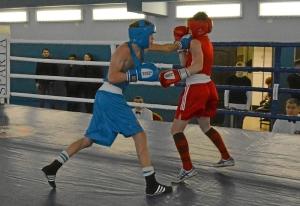 1 (9) Полуфинал. Егор Пономарев (в синей форме)