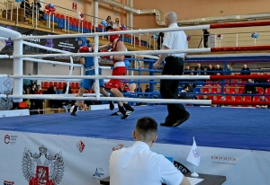 (19) Полуфинал. На ринге Егор Пономарев