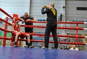 (8) Полуфинал. Егор Пономарев (в красной форме)