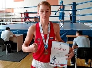 Бронзовый призер соревнований Егор Пономарев