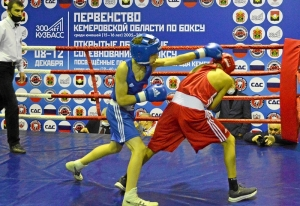 (10) Финал. В ринге Матвей Мулявин (в синей форме)