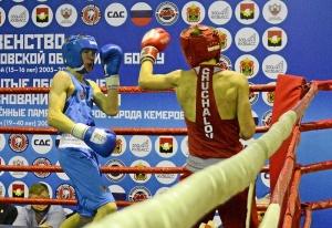 (11) Финал. В ринге Егор Пономарев (в синей форме)